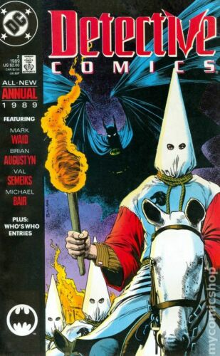 Detective Comics Annual #2 VF 1989 Stock Image