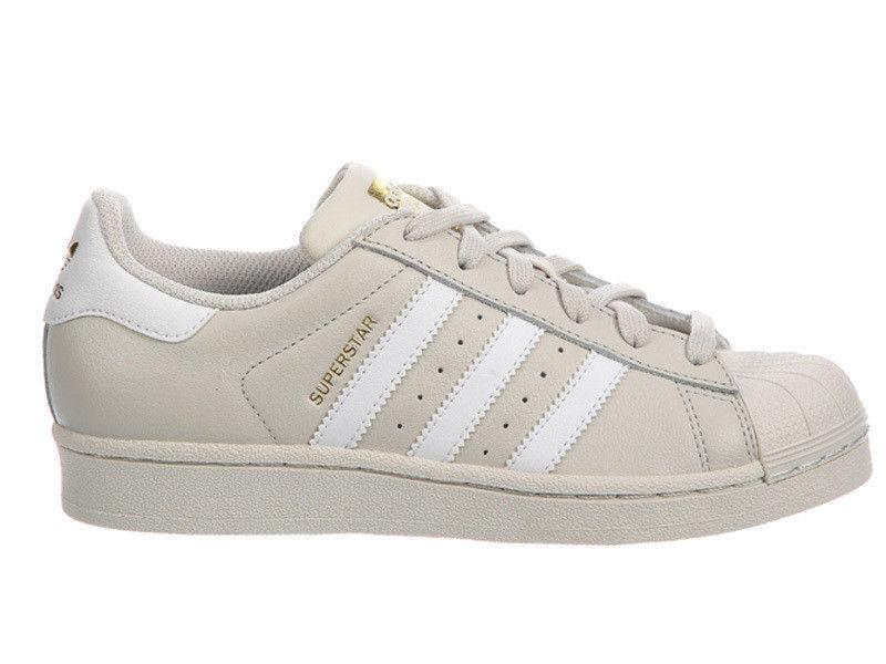New Adidas Originals Superstar Men's Casual Shoes Talc/White BW1304
