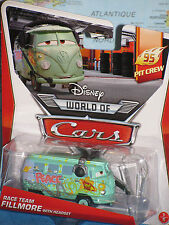 DISNEY WORLD OF CARS RACE TEAM FILLMORE With HEADSET 95 PIT CREW **BRAND NEW**