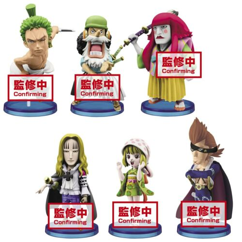 Banpresto Wanokuni 4 One Piece World Collectable Prize Figure Set of 6