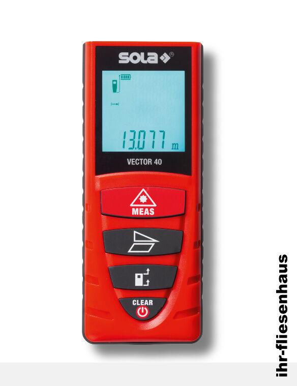 Sola vector 40 Laser appareil Distance couteau distance couteau appareil  Laser de mesure 40m 6dcff7 ab2c9c8a0153