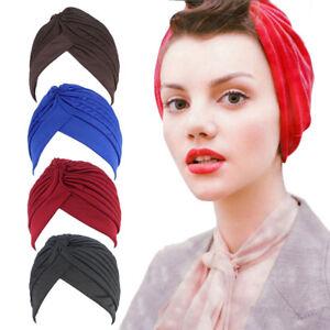Image is loading Muslim-Turban-Headband-Hat-Stretch-Indian-Pleated-Hijab- a26eaeaecd3