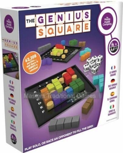 6+ niveau 3 NEW IN BOX Happy Puzzle CO Le génie Square
