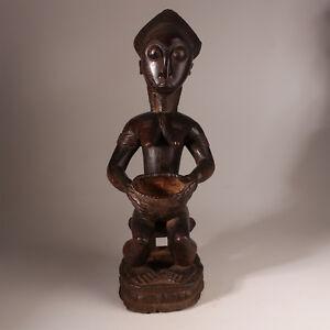9611-Feine-Baule-sitzende-figur-Ancestor-Figur-other-world