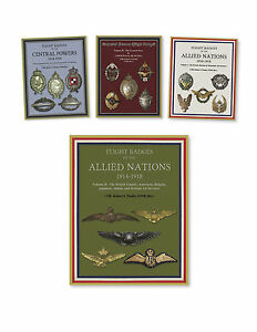 WWI Aviation History and Flight Badges (1914 -1918), 4 Book SALE- $340 Value!