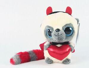 "YOOHOO and friends VALENTINE'S DAY DEVIL 5"" wannabe plush soft toy - NEW!"
