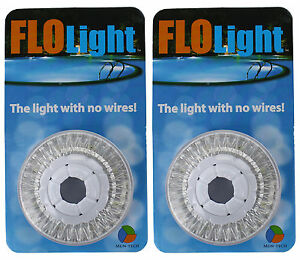 2 Led Swimming Above Inground Pool Flo Lights Wireless