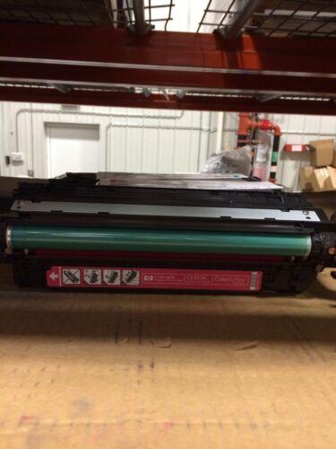Used HP OEM Genuine Magenta CE253A Toner for CP3520 CP3525 CM3530 21