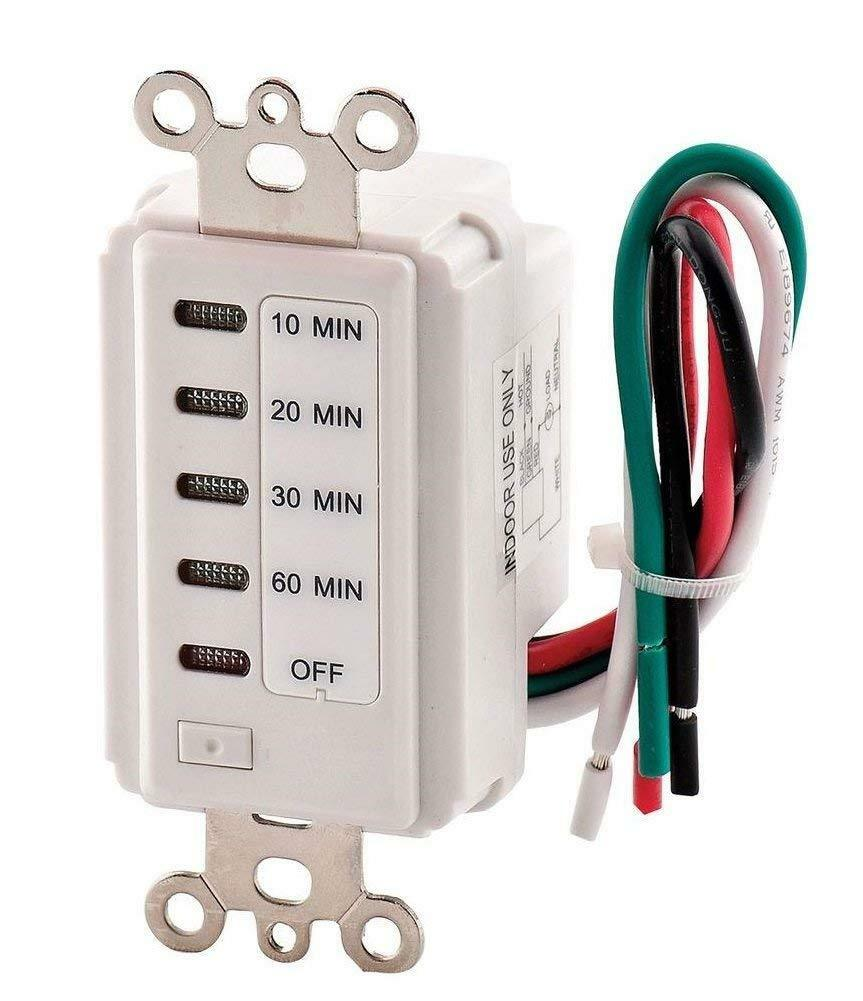 Woods 59008 Switch 60 30 20 10 Minute Timer Countdown Fan Light Time 9300  for sale online | eBay | Woods 59008 Timer Wiring Diagram |  | eBay