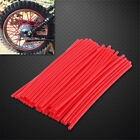 Wheel Spoke Wraps Kit Rims Covers Skins Guard Protector For Motocross Dirt Bike