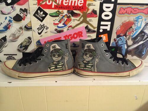 Gorillaz Converse Chuck Taylor Mens Size 9