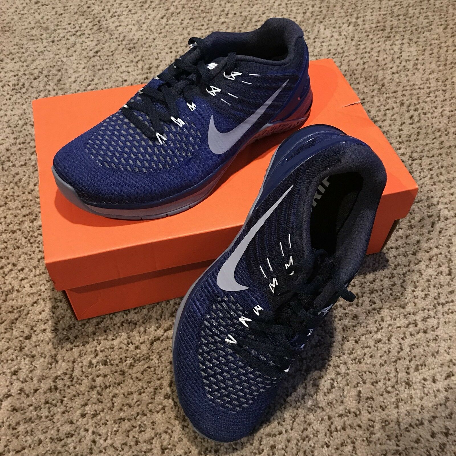 flyknit royal chaussures nike metcon dsx chez noir bleu royal flyknit 852930-403 formation taille 7,5 0bb123
