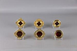 Catholic-Reliquary-Relic-theca-Brass-set-total-6-pcs-per-set