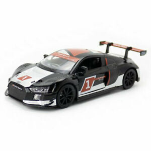 Audi-R8-LMS-2015-Racing-Car-1-32-Model-Car-Diecast-Toy-Vehicle-Pull-Back-Black