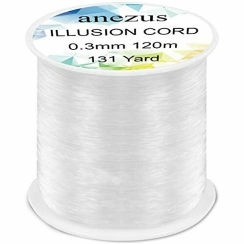 Details about  /Fishing Line Nylon String Cord Clear Fluorocarbon Strong Monofilament FREE SHIP