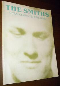 SPARTITO TABLATURE THE SMITHS Strangeways, here we come (Warner 87 UK) RARE!