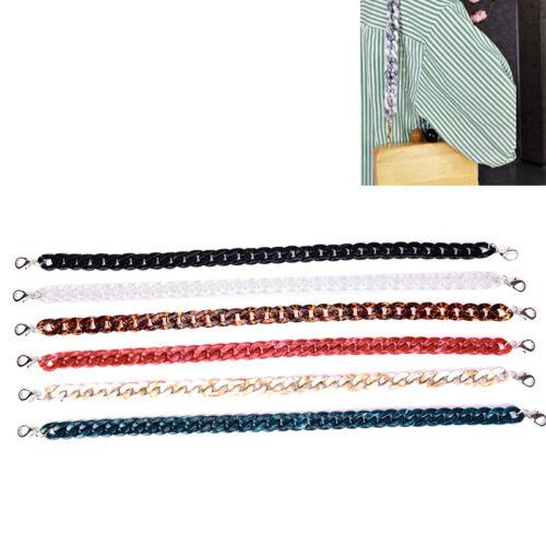 120cm Acrylic Detachable Replacement Chain Shoulder Bag Strap Handbag Accesso JN