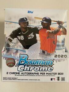 2020 Bowman Chrome Baseball Hobby Box Break! $15,RANDOM team, live draw! #13