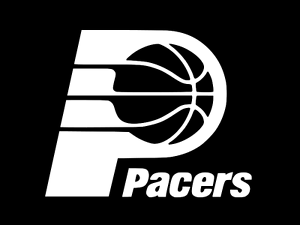 INDIANA PACERS BASKETBALL Vinyl Decal Car Wall Window Sticker CHOOSE SIZE COLOR
