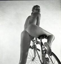 NU NUDE PHOTO FOTO 20x20CM REPRINT FROM ORIGINAL 1960's vintage neg 15