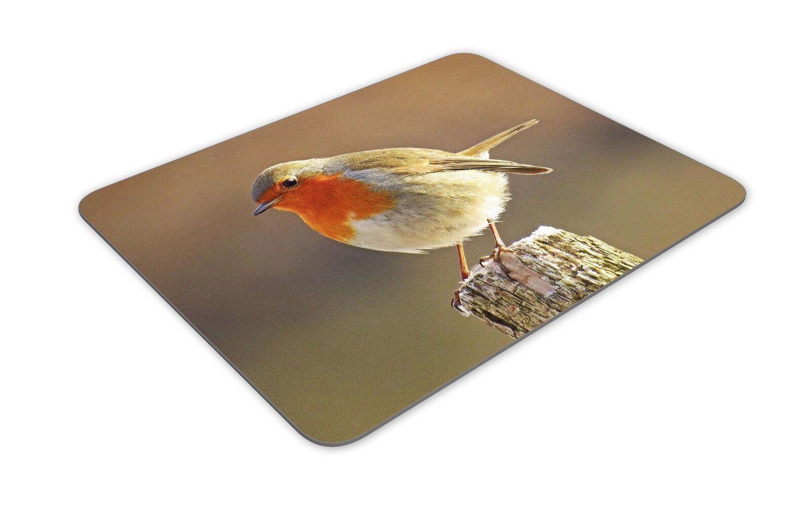 Personalised Red Robin Mouse Mat Pad Computer Gaming British Bird Gift SH212
