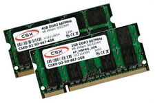 4 GB + 2 GB 6 GB DDR2 667 MHz Apple MacBook 3.1 4.1 2007 2008 memoria RAM SO-DIMM