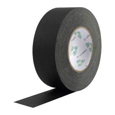 Main Stage Gaff Tape Black 3 inch by 30 Yards Gaffers Tape