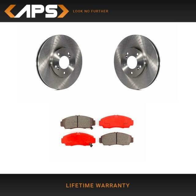 Front Disc Rotors & Semi-Metallic Brake Pads Kit For 1999