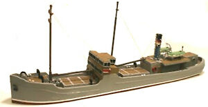 148ft-raised-foredeck-Freighter-Coaster-UNPAINTED-N-Gauge-Scale-Models-Kit