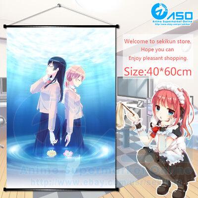 Anime Wall Scroll Poster Yagate Kimi ni Naru Bloom Into You Art Home Decor Gift