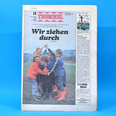 Trommel 14/1987 Ddr-zeitschrift Senzig Gera Von Ardenne Spanienkrieg Pionier Seien Sie Im Design Neu