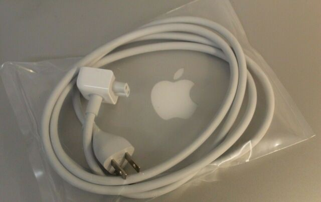 Genuine Apple Macbook Pro Macbook Air Charger Extension Power Cord Cable 6Ft US