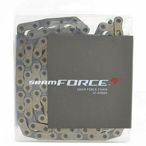 SRAM Red AXS eTap 12-Speed 114 Link Flattop Chain with Powerlock 00.2518.037.000