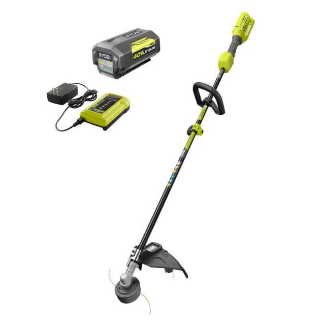 Best String Trimmer 2020.String Trimmer Cordless Ryobi Expand It Ry40250 40v Weed Grass Charger Included