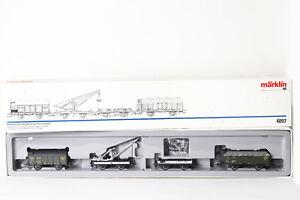MÄRKLIN H0 4897 Set de vagones Turba transporte der K. bay.sts.b. incl. Pinzas (