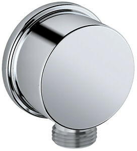 Bath plumbing wall joint corner fitting CULT in chrome 1/2 ...