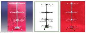 Ausdrucksvoll Verkaufsständer Warenständer Mit 3 Etage Drehbar Hakenständer Metall FöRderung Der Produktion Von KöRperflüSsigkeit Und Speichel