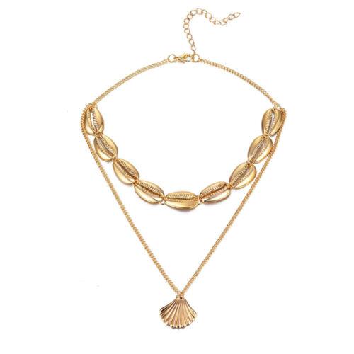 Charm Natural Sea Shell Cowrie Pendant Choker Necklace Bracelet Earrings Jewelry