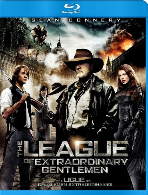 NEW BLU-RAY // THE LEAGUE OF EXTRAORDINARY GENTLEMEN - Sean Connery, Shane West,
