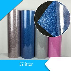 Glitter Heat Transfer Vinyl Film Heat Press Cut By Cutting