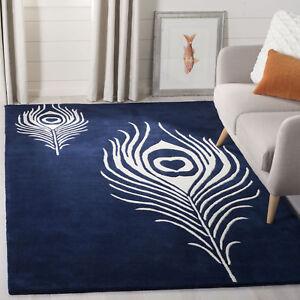 Ivory Safavieh Soho Wool Area Rug