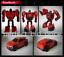 miniature 7 - Hasbro Transformers TITANS RETURN G1 IDW Windcharger Gnaw Action Figure No Box