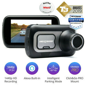 Nextbase 522GW Dash Cam In-Car 1440p Ultra HD WiFi GPS Bluetooth Alexa