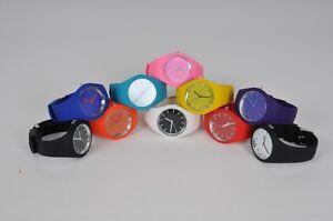 Colourful-Silicone-Watch-12-Styles-Kids-Children-Boys-Girls-Adults-Men-Women