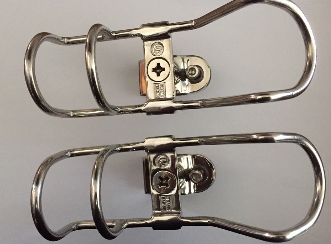 Clamp On Rod Holders Rail   32mm 316 Stainless 360 Horizontal & greenical New x2  online at best price