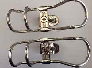 Clamp On Rod Holders Rail  32mm 316 Stainless 360 Horizontal & Vertical New x2