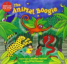 The Animal Boogie (A Barefoot Singalong) New Paperback Book Debbie Harter