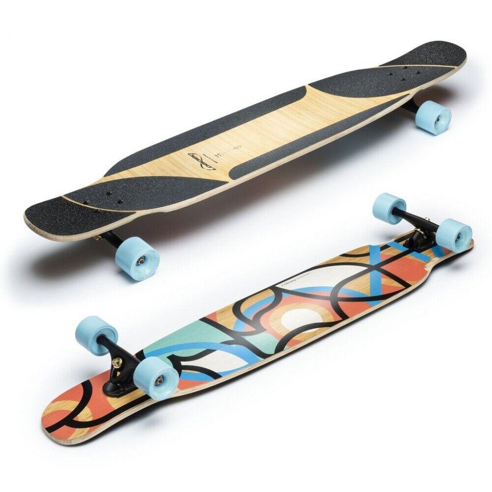Lastad Bhangra V2 Flex 1 - karving  Boardwalk - Longboard komplett