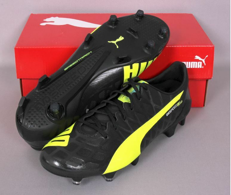 PUMA evoSPEED SL-S FG 10373102 Soccer Football Cleats Schuhes Stiefel Spike