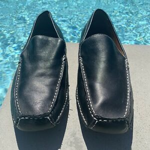 Kohls Apt. 9 Mens Leather Slip-On